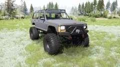 Jeep Cherokee (XJ) 1987 crawler for MudRunner