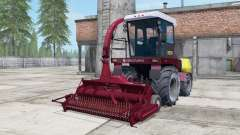 Palesse 2U250А dark moderate red color for Farming Simulator 2017