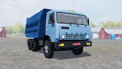 KamAZ-55111 moderately blue color for Farming Simulator 2013