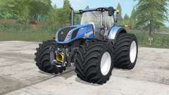 New Holland T7.290-315 wheels selection for Farming Simulator 2017