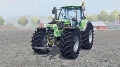 Deutz-Fahr 7250 TTV Agrotron signs of wear for Farming Simulator 2013