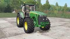 John Deere 8130-8530 real sound for Farming Simulator 2017