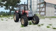 MTZ-1221 Belarus soft-red color for Farming Simulator 2015