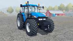 New Holland TM 190 deep sky blue for Farming Simulator 2013
