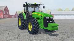 John Deere 8430 manual ignition for Farming Simulator 2013