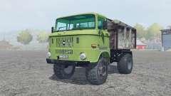 IFA W50 L olivine for Farming Simulator 2013