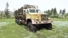 The KrAZ-255B 8x8 for MudRunner