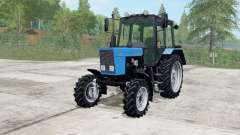 MTZ-82.1 Belarus blue color for Farming Simulator 2017