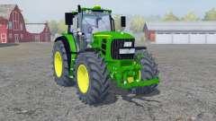 John Deere 7530 Premium front loadeᶉ for Farming Simulator 2013