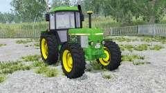 John Deere 3650 dark pastel green for Farming Simulator 2015