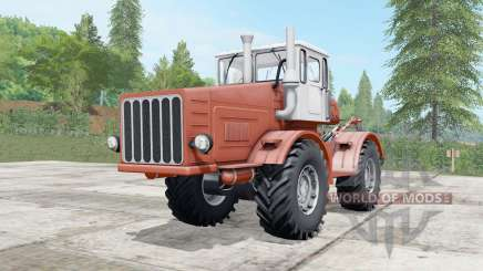 Kirovets K-700 a moderately red color for Farming Simulator 2017