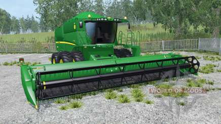 John Deere S550 Brazilian version for Farming Simulator 2015