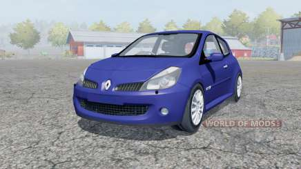 Renault Clio R.S. 2008 for Farming Simulator 2013