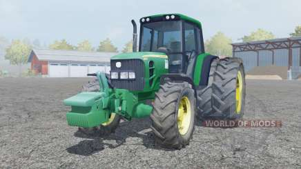 John Deere 6930 dual rear wheels for Farming Simulator 2013