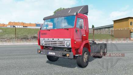 KamAZ-5410 bright red color for Euro Truck Simulator 2