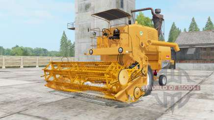 Bizon Super Z056 yellow orange for Farming Simulator 2017