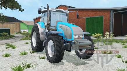 Valtra T140 vivid sky blue for Farming Simulator 2015