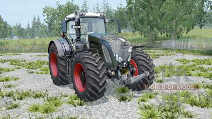 Fendt 936 Vario Black Beauty twin wheels for Farming Simulator 2015