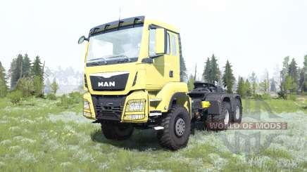 MAN TGS 33.480 for MudRunner
