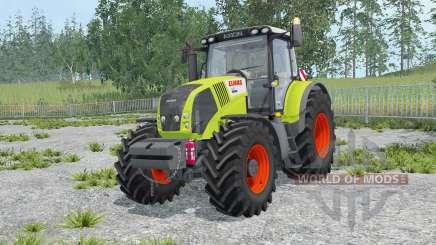 Claas Axion 850 key lime pie for Farming Simulator 2015