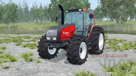 Valmet 6400 vivid red for Farming Simulator 2015