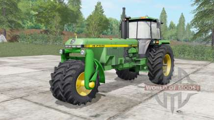 John Deere 4555-4755 trike for Farming Simulator 2017