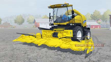 New Holland FR9050 ripe lemon for Farming Simulator 2013