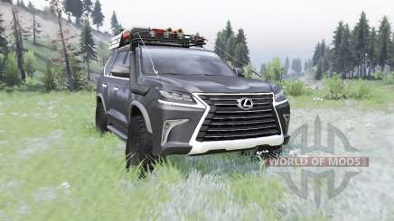 Lexus LX 570 (URJ200) 2016 off-road for Spin Tires