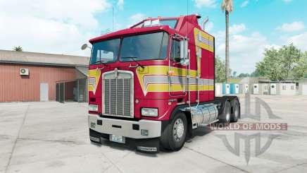 Kenworth K100E paradise pink for American Truck Simulator