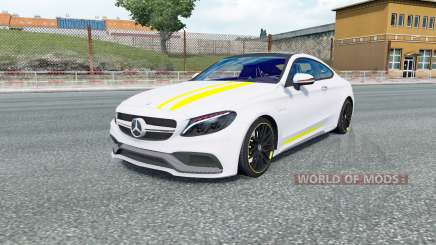 Mercedes-AMG C 63 S coupe (C205) 2016 for Euro Truck Simulator 2