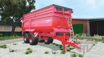 Krampe Bandit 750 pigment red for Farming Simulator 2015