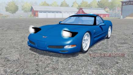 Chevrolet Corvette Z06 (C5) 2001 for Farming Simulator 2013