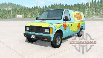 Gavril H-Series The Mystery Machine for BeamNG Drive