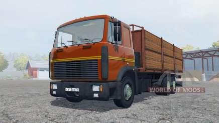 MAZ-6303 with trailer for Farming Simulator 2013