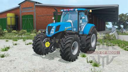 New Holland T7.170 rich electric blue for Farming Simulator 2015