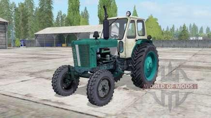 YUMZ-6L color green pine for Farming Simulator 2017