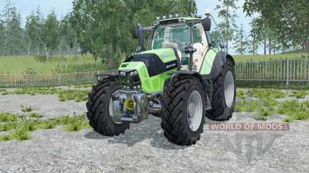 Deutz-Fahr 7210 TTV Agrotron for Farming Simulator 2015