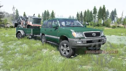 Toyota Land Cruiser 100 VX 2005 for MudRunner