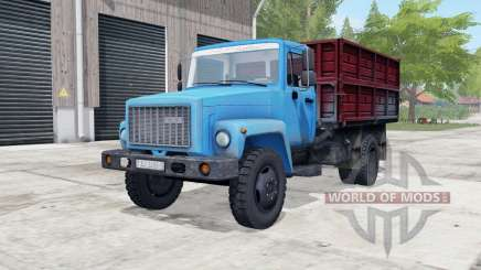 GAS-SAZ-3507-01 blue color for Farming Simulator 2017