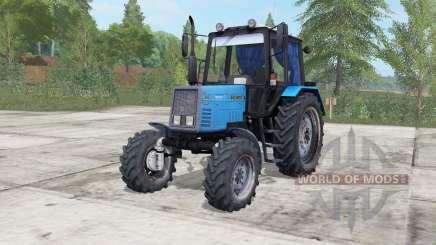 MTZ-892 Belarus electric-blue color for Farming Simulator 2017