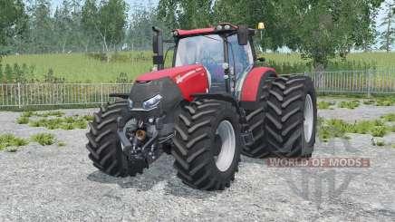 Case IH Optum 300 CVX alizarin crimson for Farming Simulator 2015