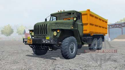 Ural-5557 dark grayish-green color for Farming Simulator 2013