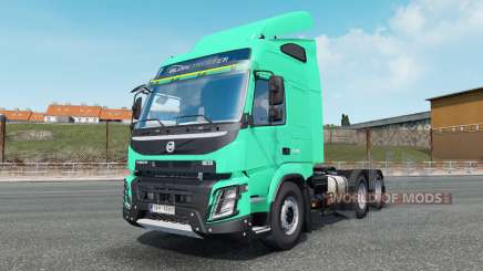 Volvo FMX 540 Globetrotter cab 2013 for Euro Truck Simulator 2