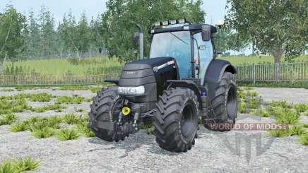 Case IH Puma 160 CVX eerie black for Farming Simulator 2015