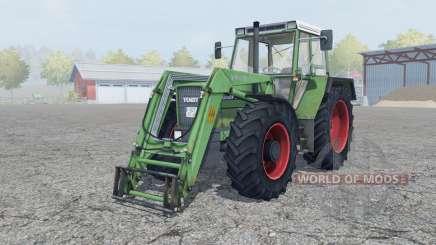 Fendt Favorit 611 LSA Turbomatik E for Farming Simulator 2013