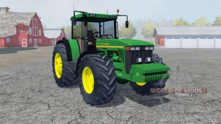 John Deere 8410 pigment green for Farming Simulator 2013