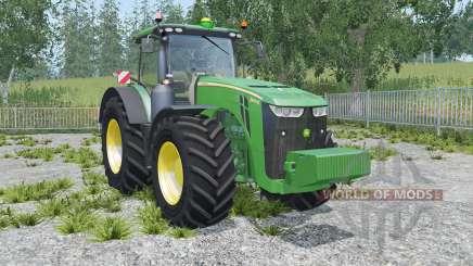 John Deere 8370R sea green for Farming Simulator 2015