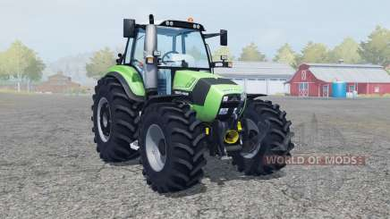 Deutz-Fahr Agrotron TTV 430 FL console for Farming Simulator 2013