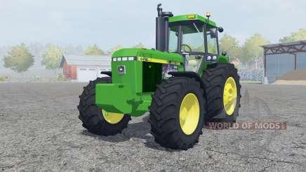 John Deere 4455 add weights for Farming Simulator 2013