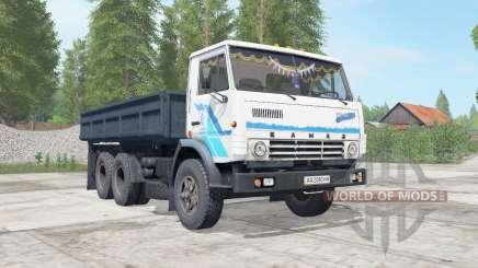 KamAZ-5320 dark ninasimone-blue body for Farming Simulator 2017